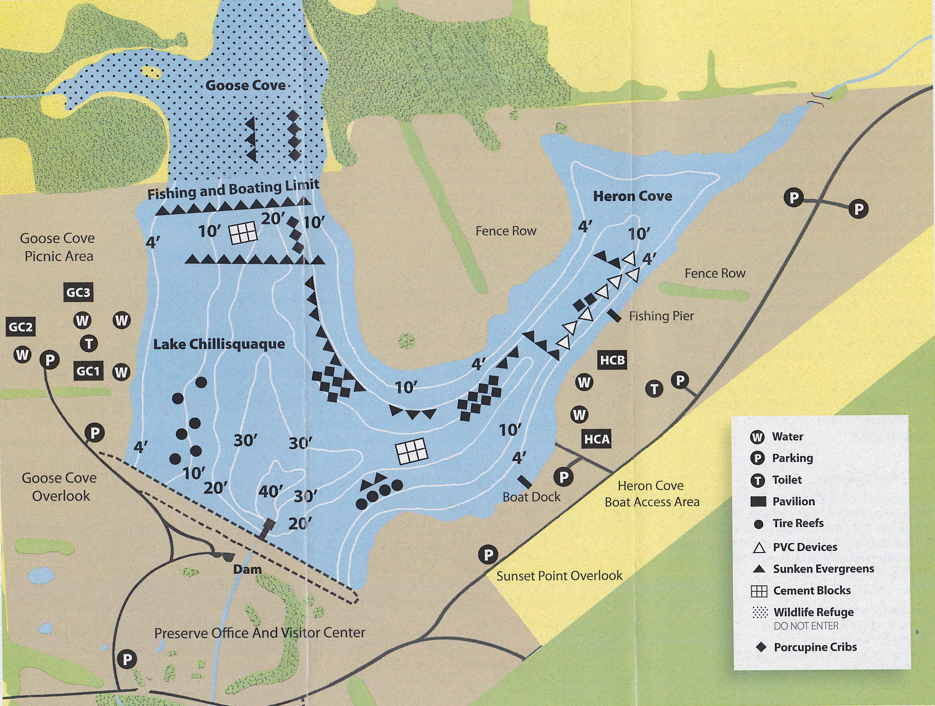 Lake Chillisquaque Map Low Res